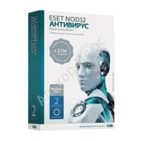 Антивирус ESET NOD32 Platinum Edition, 3ПК 2года, бокс, NOD32-ENA-NS(BOX)-2-1