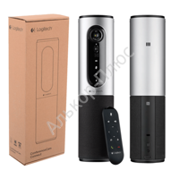 Вебкамера LOGITECH ConferenceCam Connect Silver, 10Мпикс,USB 3.0/2.0, микрофон, автофокус,960-001038