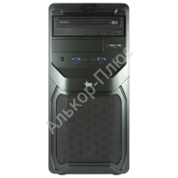 Системный блок IRU Office 310 MT INTEL Core-i3 4170 3.7ГГц/4Гб/500Гб/DVD-RW/DOS/чер 357996