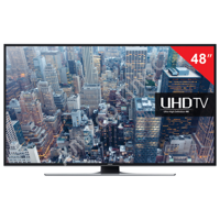 "Телевизор LED 48"" SAMSUNG UE48JU6400,3840x2160 4K UHD,16:9,SmartTV,Wi-Fi,200Гц,HDMI,USB,черн,13кг"