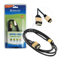 Кабель HDMI A(M)-C(M)(mini) DEFENDER HDMI07-06PRO ver1.4, 1,8м,блистер, 87441