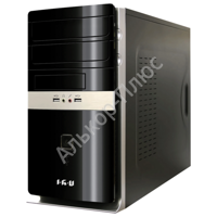 Системный блок IRU Office 310 MT INTEL Core i3-4160 3.6ГГц/4Гб/500Гб/DVD-RW/DOS/чер 327093